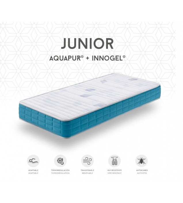 COLCHON JUVENIL AQUAPUR JUNIOR